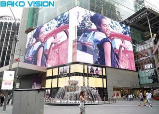 P10 Waterproof Fixed Led Billboard , Led Digital Display TV Wall For Building Advertising